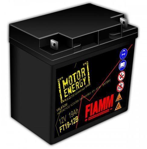 Fiamm FT19-12B, 12V, 19Ah, AGM - baterie pro sekačky, garden