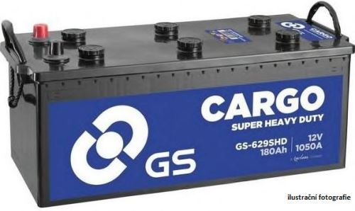 Autobaterie GS Cargo Super Heavy Duty (SHD) 180Ah, 12V, 1050A