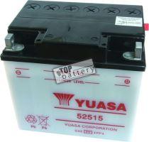 Motobaterie YUASA 52515, 12V, 25Ah