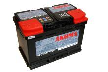 Autobaterie Akuma Komfort 12V, 74Ah, 640A, 7905549