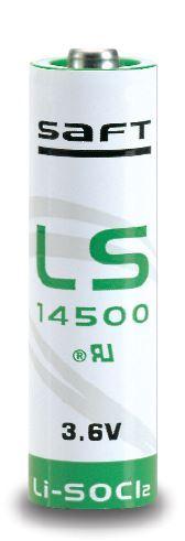 Baterie Saft LS14500 STD, 3,6V, (velikost AA), 2600mAh, Lithium, 1ks