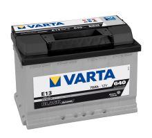 Autobaterie VARTA BLACK Dynamic 70Ah, 12V (E13)