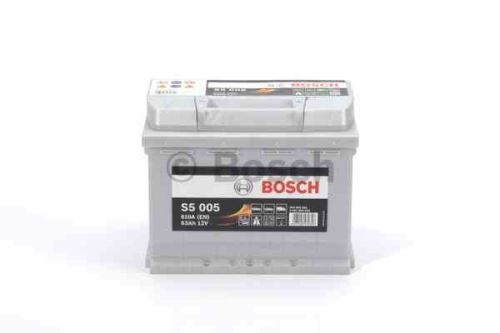 Autobaterie BOSCH Silver S5 005, 63Ah, 12V, 610A, 0 092 S50 050
