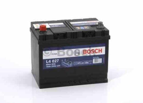 Trakční baterie BOSCH Starter L4  027, 75Ah, 12V, 600A, 0 092 L40 270