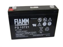 Olověný akumulátor Fiamm FG10721, 7,2Ah, 6V, (faston 187)