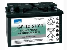 Trakční gelová baterie Sonnenschein GF 12 051 Y 1, 12V, 56Ah