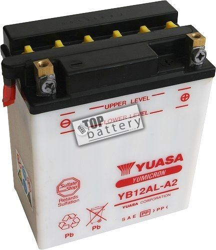 Motobaterie Yuasa YB12AL-A2, 12V, 12Ah