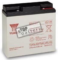 Záložní akumulátor (baterie) Yuasa NP 17-12 I (17Ah, 12V)