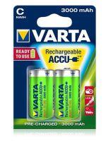 Baterie Varta HR14, 56714, C, 3000mAh, nabíjecí, (Blistr 2ks)