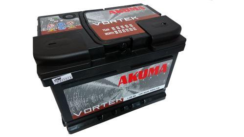 Autobaterie Akuma Vortek 12V, 60Ah, 600A, 7905529