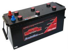 Autobaterie Sznajder HD 125Ah, 12V, startovací proud 690A