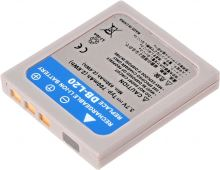 Baterie Sanyo DB-L20, 3,6V (3,7V), 700mAh, 2,6Wh