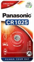 Baterie Panasonic CR1025, Lithium 3V, (Blistr 1ks)