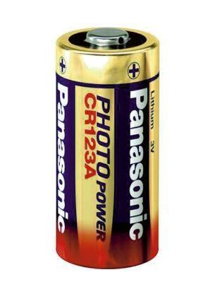 Baterie Panasonic CR123, Lithium, fotobaterie, (blistr 1ks)