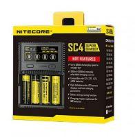 Nabíječka Nitecore SC4 pro Ni-CD/ Ni-MH/ Li-Ion/ LiFePO4