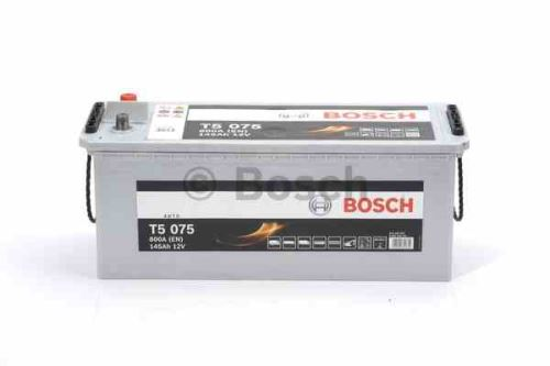 Autobaterie BOSCH T5 075 HDE, 145Ah, 12V, 800A, 0 092 T50 750