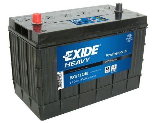 Autobaterie EXIDE Profesional, 12V, 110Ah, 950A, EG110B