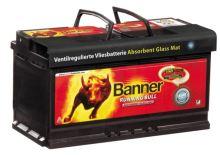 Autobaterie Banner Running Bull AGM 580 01, 80Ah, 12V, 800A (58001)