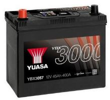 Autobaterie Yuasa YBX3000, 45Ah, 12V, 400A (YBX3057) - Levá