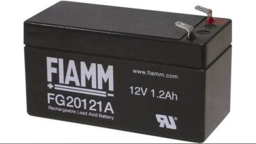Olověný akumulátor Fiamm FG20121A, 1,2Ah, 12V, (faston 187-42mm)