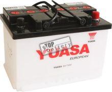Autobaterie YUASA 57420, 74Ah, 12V, 670A (zprovozněná)
