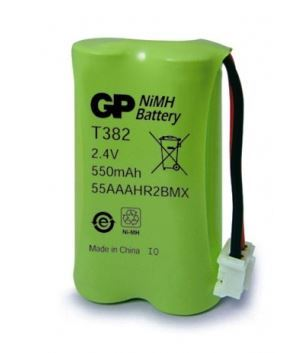 Baterie GP Gigaset T382, A140, AS140, 550mAh, Ni-Mh, (Blistr 1ks)