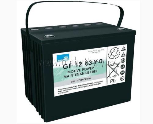 Trakční gelová baterie Sonnenschein GF 12 063 Y 0, 12V, 70Ah