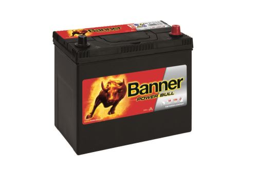 Autobaterie Banner Power Bull P45 23, 45Ah, 12V, 360A (P4523)