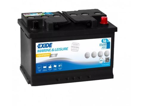 Trakční baterie EXIDE EQUIPMENT GEL, 12V, 56Ah, ES650