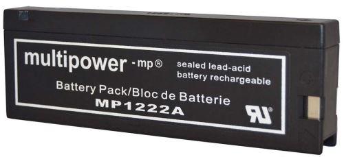 Akumulátor (baterie) CT/Multipower MP1222A, 12-2,0 (2,0Ah - 12V - tlakové kontakty)