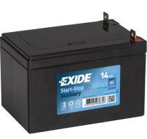 Autobaterie EXIDE EK143 Start-Stop Přídavná (Auxiliary), 12V, 14Ah, 80A
