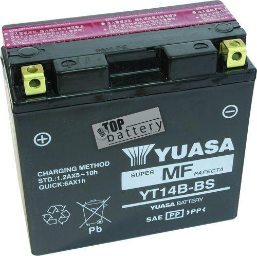 Motobaterie YUASA YT14B-BS, 12V, 12Ah