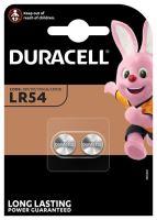 Baterie Duracell LR54, LR1130,389, 390, AG10, Alkaline, 1,5V, (Blistr 2ks)